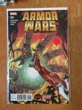 Armor Wars #5 Iron Man Robinson Takara Marvel Comics Near Mint Comic Book - $1.89