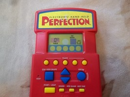 Perfection Electronic Hand-Held Video Game 1996 Milton-Bradley w/ instructions - $12.73