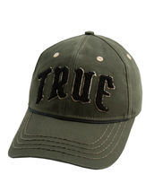 True Religion Men's Embroidered Chenille Logo Sports Hat Baseball Strapback Cap image 6