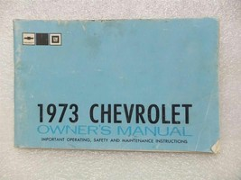 1973 CHEVY CHEVROLET Owners Manual 15999 - $18.76