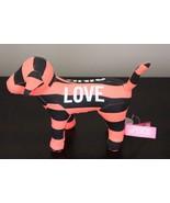 Victoria's Secret PINK Black and Neon Orange Dog Vintage! - $17.99