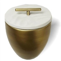 Thymes Frasier Fir Gold Metal Candle with Lid 9.5oz - $42.99