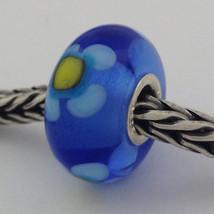 Authentic Trollbeads Ooak Murano Glass Unique Bead Charm #231, 13mm Diameter New - $33.24