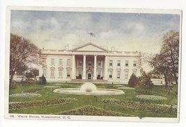 Washington DC White House Vintage Foster & Reynolds UDB Postcard - $6.69