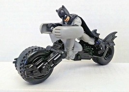 DC Super Friends Imaginext Batman Figure Batpod Batcycle Fisher Price Used - $12.00