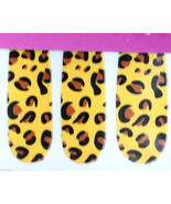 Punk Rave Rockabilly NAIL POLISH STICKERS Wild Cosplay Costume - LEOPARD... - $2.94
