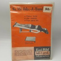 Easi Bild Relax a Board Woodworking Pattern 1952 Full Size USA Easy Buil... - $18.81