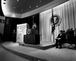President John F. Kennedy holds Press Conference about Vietnam New 8x10 ... - $7.05