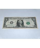 2013 Dollar Bill US Bank Note Date Year Birthday 1980 8983 Fancy Money S... - £10.02 GBP