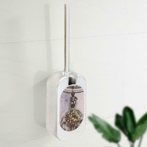 Toilet Cleaning Brush Set Household Plating Wall Mounted Toilet Bathroom - $24.86