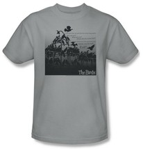The Birds T-shirt Alfred Hitchcock retro classic horror movie cotton tee UNI232 image 2