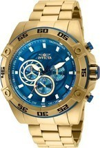 Invicta Men's 25536 Speedway Gold-Tone Stainless Steel Watch - £98.20 GBP