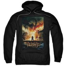Hobbit - Smaug Poster Adult Pull Over Hoodie Officially Licensed Apparel - $36.99+