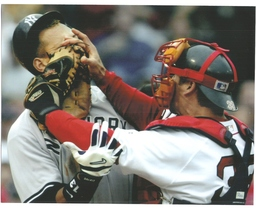 Alex Rodriguez Jason Varitek Fight 8X10 Matted Color Baseball Memorabili... - $7.95