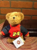 "Boyds Nascar #24 Jeff Gordon  6"" Plush Teddy Bear Mini Stuffed Bear w/Tags - $7.85"