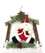 Ho Ho Ho Santa Decorative Wall Door Christmas Hanging - $15.00