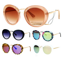 SA106 Womens Glam Round Butterfly Diva Celebrity Sunglasses - $12.95