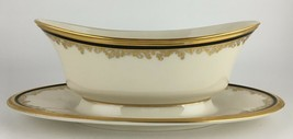 Lenox Eclipse Gravy boat and attached under plate  - $60.00