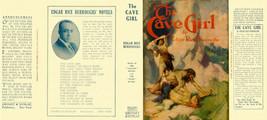 Edgar Rice Burroughs The Cave Girl Faksimile -umschlag 1. Grosset Edition - $21.50