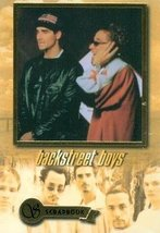 Backstreet Boys trading card (Scrapbook) 2000 Winterland #18 of 18 - $4.00