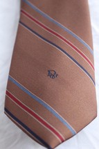 Vintage Christian Dior Men's Striped Tie. Made in the USA. - $12.37