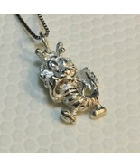 Brand New 925 Sterling Silver 3D Dragon Zodiac Small Pendant with Free C... - $22.24