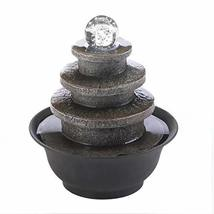 Tiered Round Tabletop Fountain 8.5x8.5x9.5 - $72.89