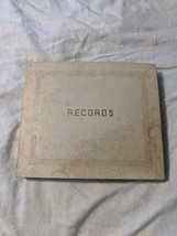 Vintage Music Record Book of 10 RCA Victor Columbia Rosemary Clooney Bin... - $34.95