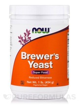NOW Foods - Brewer's Yeast Debittered - 1 lb. - $15.49