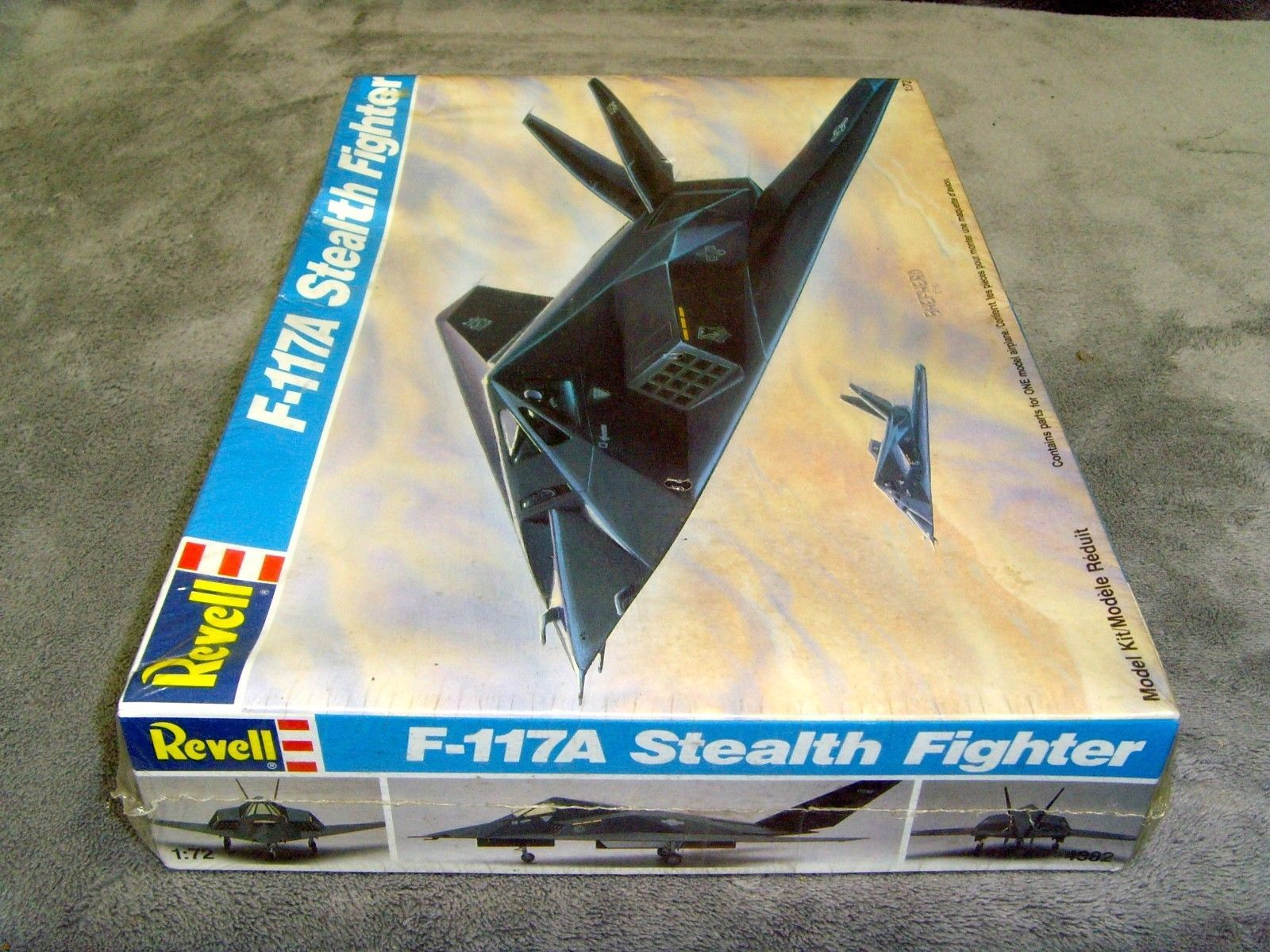 Vintage•1990•New•Sealed•Revell•F-117A Stealth Fighter•1:72 Scale•Model Kit•#4382