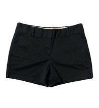 Ann Taylor LOFT Women Size 8 (Meas 33x4) Black Chino Shorts Casual - $13.86