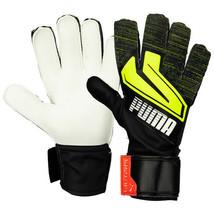 Puma Ultra Grip 4 RC Goalkeeper Gloves GK Soccer Football Black 04170008 - $30.99