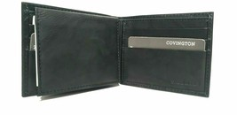 Buxton Men's Credit Card CC Billfold Wallet, Genuine Leather Black,.. - $7.89
