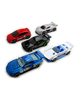 SET*5 CAR MODELS, NIGHTBURNERZ HOTWHEELS SCALE 1:64, NEW - $35.59