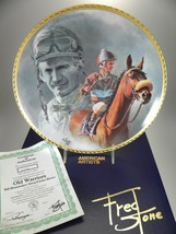 """Fred Stone Old Warriors Horse Collector Plate (#2243) 10""""(Signed Bill Sh... - $109.84"""