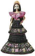 Barbie 2021 Dia De Muertos Doll Day Of The Dead - $168.30