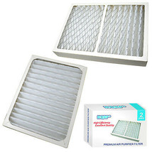 2x HQRP Air Cleaner Filters for Hunter HEPAtech 30060 30061 30124 30126 30128 - $30.95