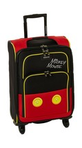 "American Tourister Disney 21"" Spinner Luggage Mickey Mouse Style Travel Suitcase - $75.79"