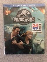 Jurassic World: Fallen Kingdom [Blu-ray + DVD + Dig ] Brand New with slipcover - $11.99