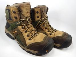 Keen Davenport Mid Top AL Size 13 M (D) EU 47 Men's Steel Toe Utility Work Boots