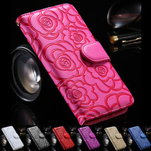 For Samsung S20 Ultra/S10plus/S9/S8/Note10 Wallet Case Flip Leather Flower Cover - $55.00