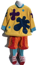 Disney Jo Jo Circus Clown Costume XXS 2-3 Halloween Warm Velour Cirque D... - $16.82