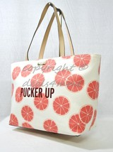 NWT Kate Spade New York Flights Of Fancy Pucker Up Francis Tote in Cream & Coral - $149.00