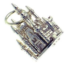 Welded Bliss Sterling 925 Silver Charm Fairy Castle Opens to Mouse, Ring or Clip - $21.01