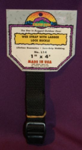 Camp Inn 1in X 4ft Web Strap Ladder Lock Buckle L14