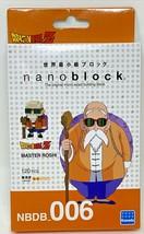Nanoblock Dragon Ball Z Master Roshi  Plastic Cube Building Blocks NBDB_006 - $13.86