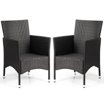 2 pcs Dining Chairs Set with 2 Cushion Covers - $134.94