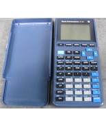 TI-81 Texas Instruments Graphing Calculator with Cover - $28.00