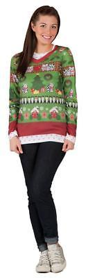 Ugly Christmas Sweater Womens Adult Costume Party FR113254
