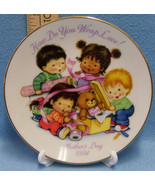 1992 Avon Collector Plate Small Mothers Day With Plate Stand Original Pa... - $8.90